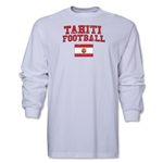 Tahiti LS Football T-Shirt (White)