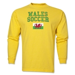 Wales LS Soccer T-Shirt (Yellow)