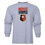 Stade Rennais FC We Are LS T-Shirt (Gray)