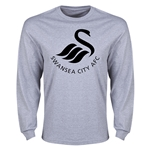 Swansea City Core Logo LS T-Shirt (Gray)
