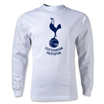 Tottenham Hotspurs Graphic LS T-Shirt (White)