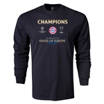 UEFA Champions League Winners LS T-Shirt (Black)