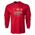 UEFA Champions League Winners LS T-Shirt (Red)