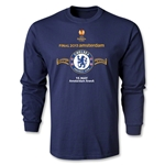 Chelsea 2013 UEL Final LS T-Shirt (Navy)