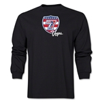 USA Sevens Vegas Rugby Long Sleeve T-Shirt (Black)