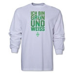 Werder Bremen I Am Green and White LS T-Shirt (White)