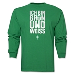 Werder Bremen I Am Green and White LS T-Shirt (Green)