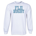 Fiji Supporter LS Rugby T-Shirt (White)