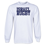 Israel Supporter LS Rugby T-Shirt (White)