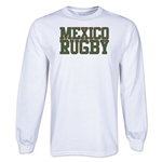 Mexico Supporter LS Rugby T-Shirt (White)