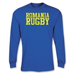 Romania Rugby Supporter LS T-Shirt (Royal)
