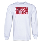 Russia Rugby Supporter LS T-Shirt (White)