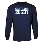 Scotland Rugby Supporter LS T-Shirt (Navy)