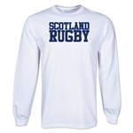 Scotland Rugby Supporter LS T-Shirt (White)