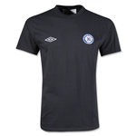 Cruz Azul Soccer T-Shirt (Black)