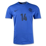 Manchester United Chicharito T-Shirt (Royal)