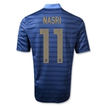 France 12/14 NASRI Authentic Home Soccer Jersey