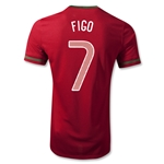 Portugal 12/14 FIGO Authentic Home Soccer Jersey