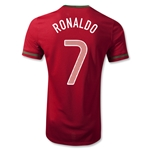 Portugal 12/14 RONALDO Jersey de Futbol Local Autentico