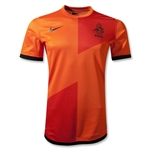 Netherlands Authentic 12/14 Home Soccer Jersey