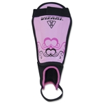 Vizari Pink Heart Shin Guards