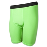 Men's Compression Shorts (Neon Green)