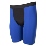 Two-Tone Compression Shorts-7 Inseam (Roy/Blk)