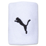 PUMA Team Wristbands (White)