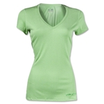 Under Armour Women's HeatGear Touch V-Neck (Green)