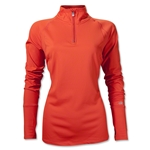 alo Tech Women's Half-zip (Orange)