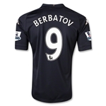Fulham 12/13 BERBATOV Authentic Third Soccer Jersey