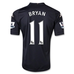 Fulham 12/13 BRYAN Authentic Third Soccer Jersey