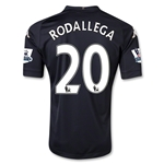 Fulham 12/13 RODALLEGA Authentic Third Soccer Jersey