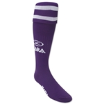 Xara Logo Soccer Socks (Purple)