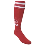 Xara Logo Soccer Socks (Red)