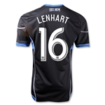 San Jose Earthquakes 2013 LENHART Authentic Primary Soccer Jersey