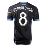 San Jose Earthquakes 2013 WONDOLOWSKI Authentic Primary Soccer Jersey