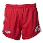 adidas Las Vegas Invitational Three Stripes Short (Red)