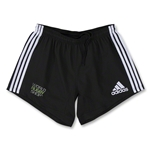 adidas World Rugby Shop Three Stripes Short (Black)