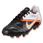 Nike CTR360 Libretto II FG Cleats (Black/White/Total Orange)