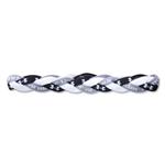Under Armour Braided Mini Headband (Blk/Wht)