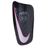 Paris Saint-Germain Mercurial Lite 16 Shinguard (Black)