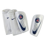 Paris Saint-Germain Mercurial Lite 16 Shinguard (White)