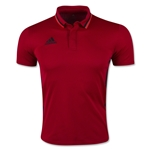 adidas Men's Condivo 16 Climalite Polo (Red)