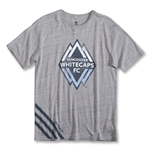 adidas Vancouver Whitecaps Big Stripes T-Shirt