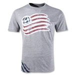 New England Revolution 2012 Big Stripes Camiseta de Futbol