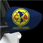 Club America Yellow Crest Mirror Cover