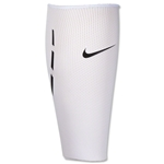 Nike Guard Lock Shin Guard Sleeves (White/Black)