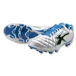 Concord Aston Kangaroo Soccer Shoes (White/Blue/Black)