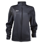 Under Armour Women's Classic Warm Up Jacket (Blk/Wht)